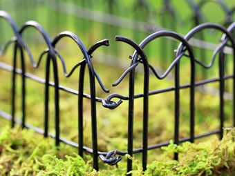Garden Border Fence For Garden Isolation/Decoration