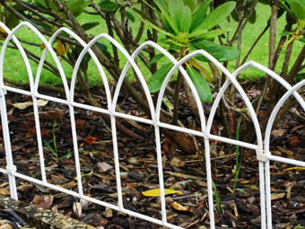 Garden Border Fence for Outdoor Decorations